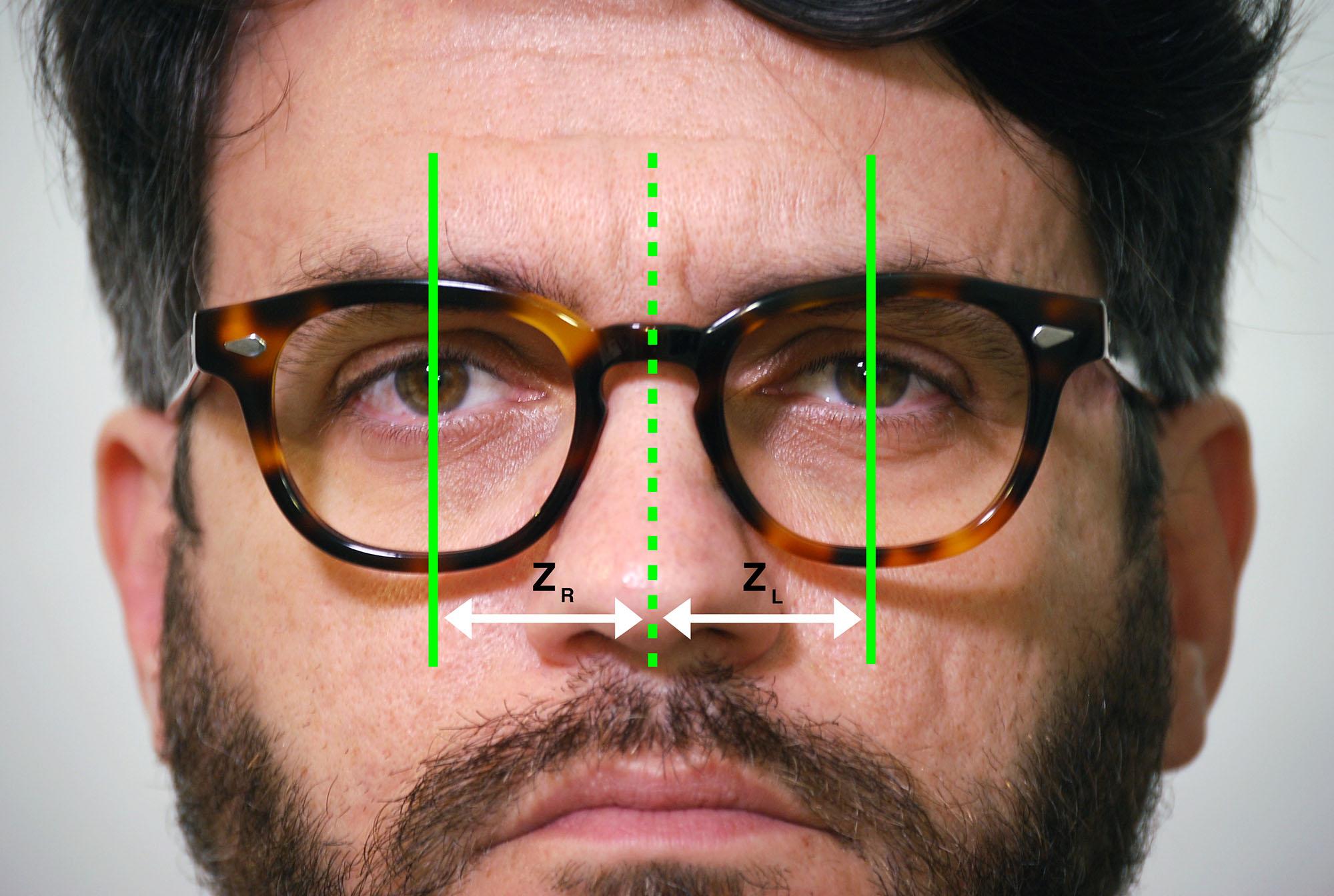 I parametri biometrici per le lenti progressive individuali